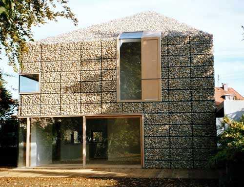 Gaviones de piedra en arquitectura belleza durabilidad respeto al entorno natural aislante - Barbacoas de piedra natural ...