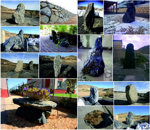 monolitos roca escollera