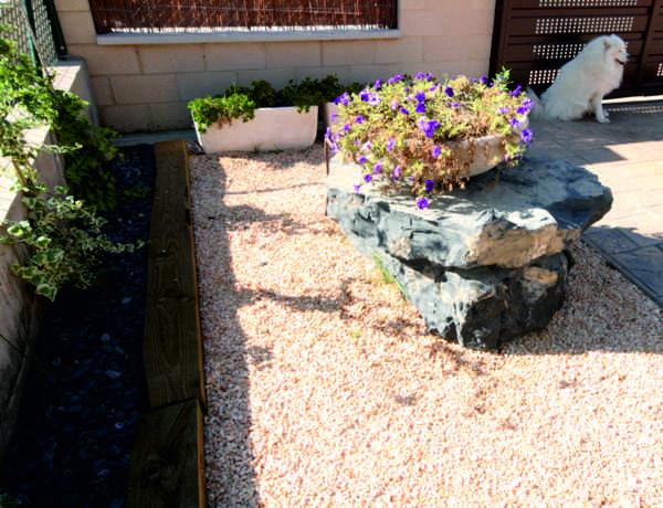 Monolitos roca escollera monolitos pizarra - Piedra decorativa jardin ...