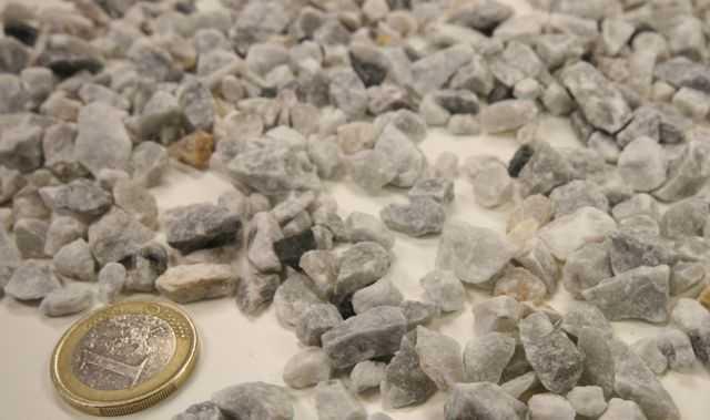 Piedra triturada decorativa