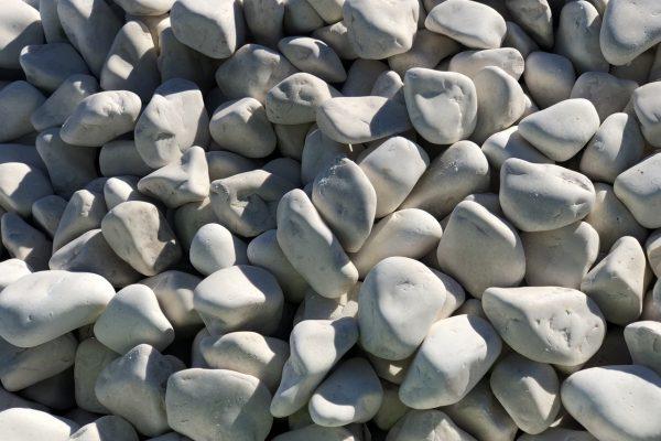 Canto rodado Blanco Montini