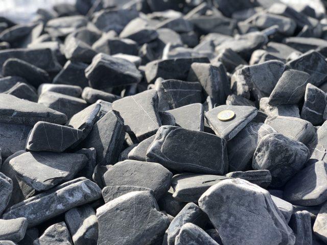 Piedra negra jardin lajosa