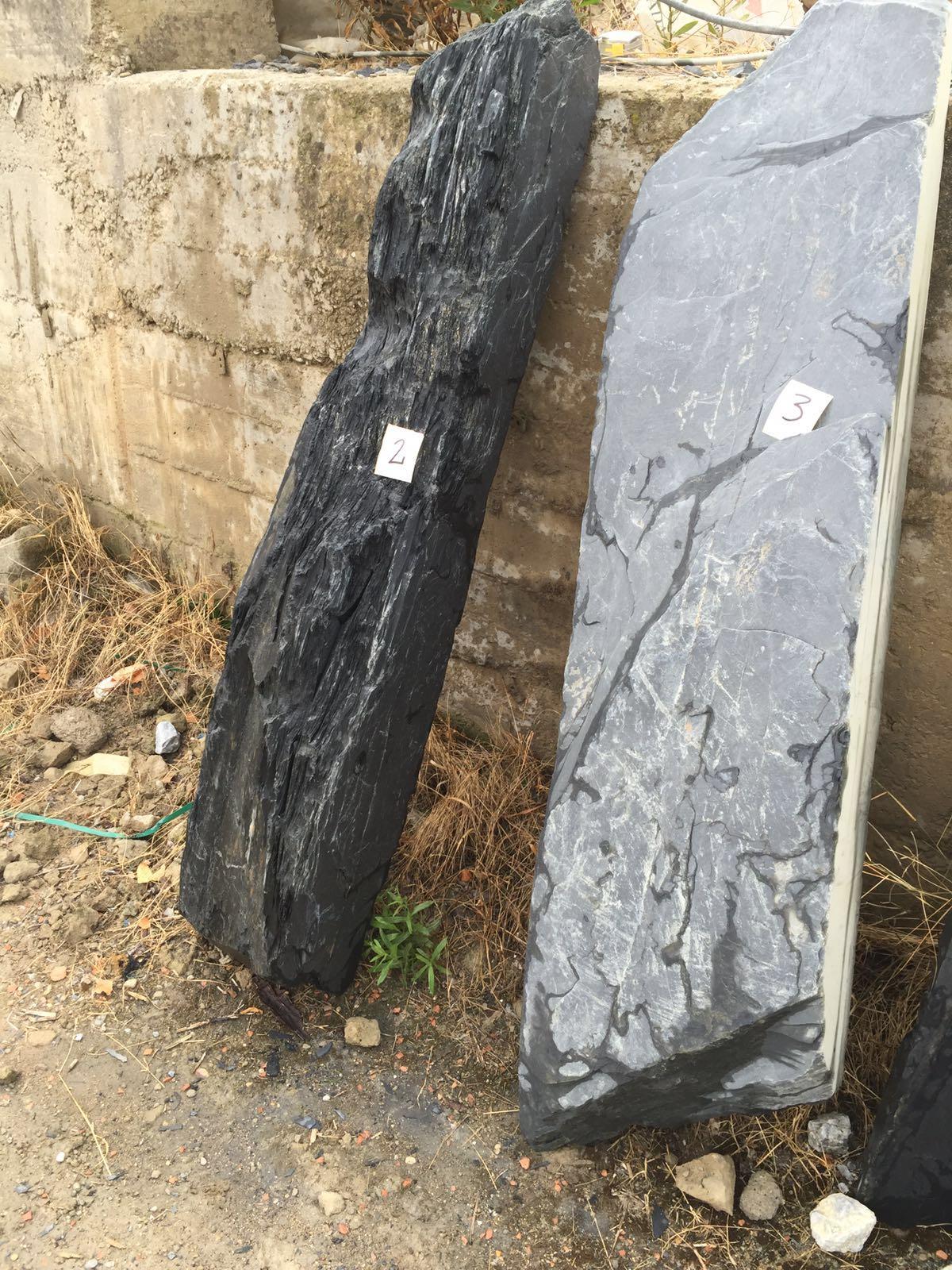 monolitos pizarra marmol basalto