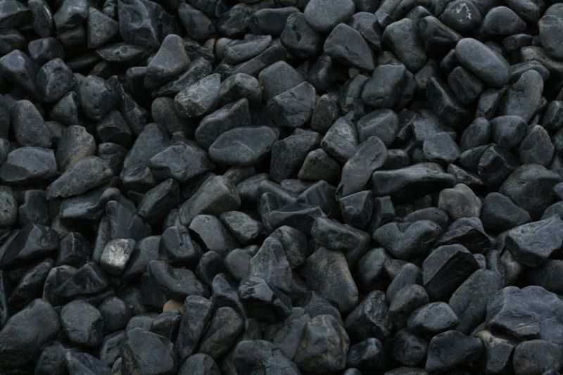 Canto rodado negro basalto