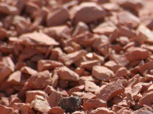 Brique pilée rouge