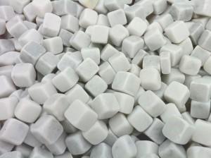 Dados marmol blanco