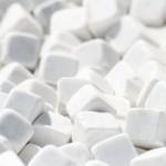 Dados de marmol blanco