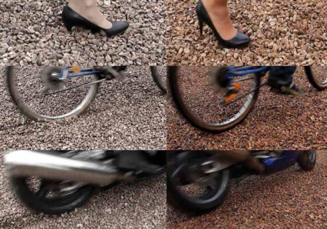 estabilizacion gravas, caminos sillas ruedas, bicicletas
