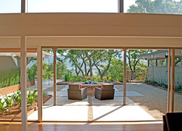 dallage jardin, pas japonais, dalles ardoise