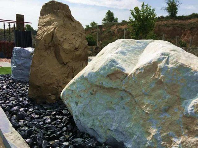 Monolitos rocas rocalla