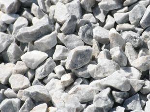 aridos triturados gris azulado