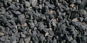 Black crushed aggregates       300x150